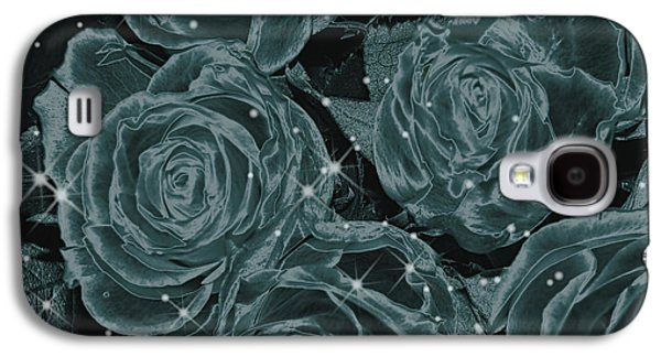 Art166 Galaxy S4 Cases - Floral Constellations Galaxy S4 Case by Wendy J St Christopher