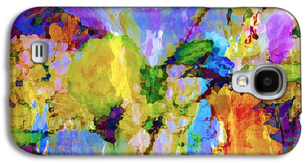 Dreamscape Galaxy S4 Cases - Floral Dreamscape Galaxy S4 Case by Ann Johndro-Collins
