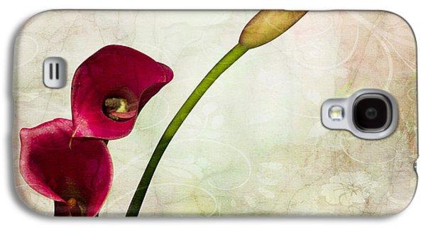 Orsillo Galaxy S4 Cases - Floral  Galaxy S4 Case by Mark Ashkenazi