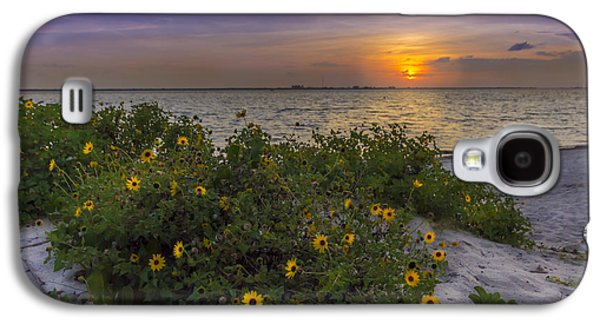 Floral Shore Galaxy S4 Case by Marvin Spates