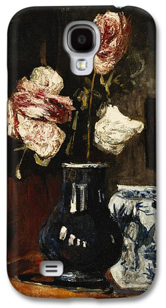 Floral Still Life Galaxy S4 Cases - Floral Still Life Galaxy S4 Case by Roderic O Conor