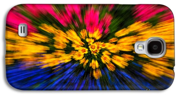 Tripple Galaxy S4 Cases - Floral Triple Zoom Galaxy S4 Case by Grace Grogan