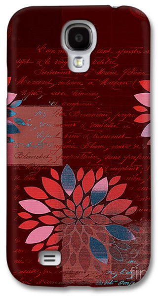 Texture Flower Galaxy S4 Cases - Floralis - 833 Galaxy S4 Case by Variance Collections