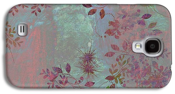 Texture Floral Galaxy S4 Cases - Floralities - 11c98t01 Galaxy S4 Case by Variance Collections