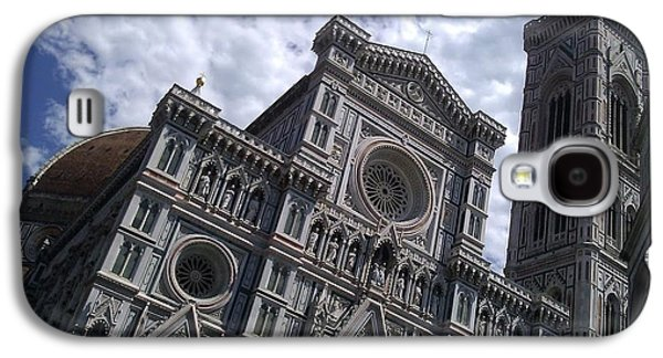 Ted Williams Galaxy S4 Cases - Florence Cathedral  Galaxy S4 Case by Ted Williams