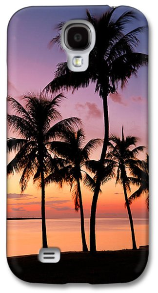 Beach Landscape Galaxy S4 Cases - Florida Breeze Galaxy S4 Case by Chad Dutson