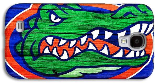 The Hills Mixed Media Galaxy S4 Cases - Florida Gators Barn Door Galaxy S4 Case by Dan Sproul