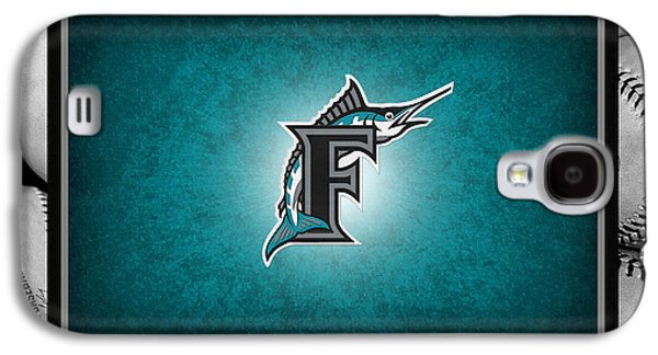 Marlin Galaxy S4 Cases - Florida Marlins Galaxy S4 Case by Joe Hamilton