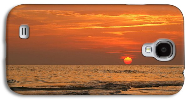 Panama City Beach Galaxy S4 Cases - Florida Sunset Galaxy S4 Case by Sandy Keeton