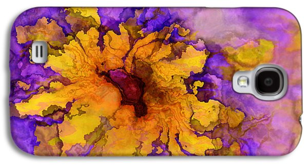 Floral Digital Galaxy S4 Cases - Floro - 50b Galaxy S4 Case by Variance Collections