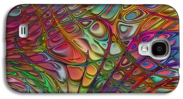 Recently Sold -  - Abstract Forms Galaxy S4 Cases - Flow 14 Galaxy S4 Case by Jack Zulli