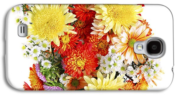 Special Occasion Galaxy S4 Cases - Flower bouquet Galaxy S4 Case by Elena Elisseeva