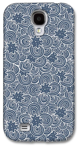 Bold Style Galaxy S4 Cases - Flower Bundle Galaxy S4 Case by Susan Claire