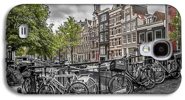 Amsterdam Flower Canal Galaxy S4 Case by Melanie Viola