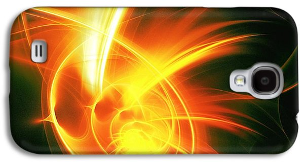 Flame Galaxy S4 Cases - Flower Energy Galaxy S4 Case by Anastasiya Malakhova