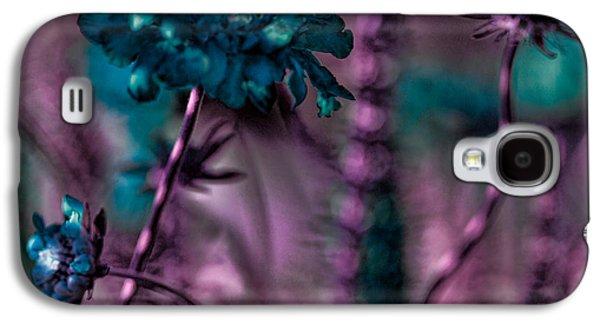 Floral Digital Art Digital Art Galaxy S4 Cases - Flower Forest Galaxy S4 Case by Bonnie Bruno