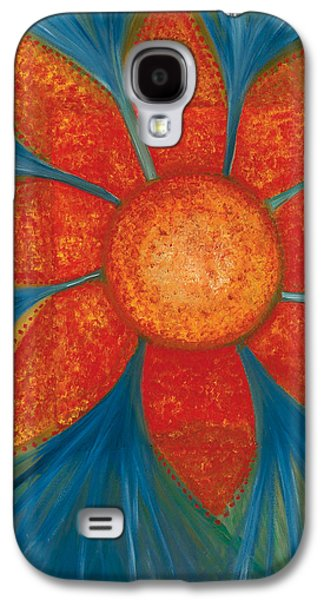 Flower Jewelry Galaxy S4 Cases - Flower Garden Sutra Galaxy S4 Case by Jessica Rosen