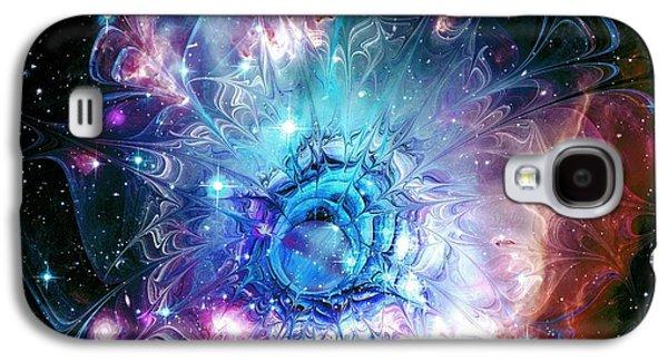 Beautiful Galaxy S4 Cases - Flower Nebula Galaxy S4 Case by Anastasiya Malakhova
