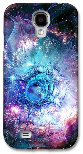 Flower Nebula Galaxy S4 Case by Anastasiya Malakhova