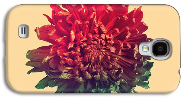 Celebration Galaxy S4 Cases - Flower prints Galaxy S4 Case by Budi Kwan