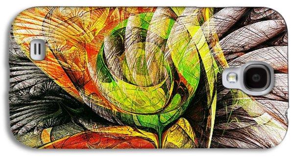 Flower Spirit Galaxy S4 Case by Anastasiya Malakhova