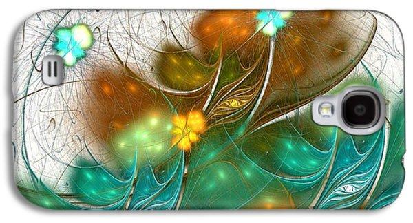 Beautiful Galaxy S4 Cases - Flower Wind Galaxy S4 Case by Anastasiya Malakhova