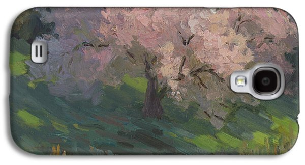 Cherry Tree Galaxy S4 Cases - Flowering Cherry Galaxy S4 Case by Diane McClary