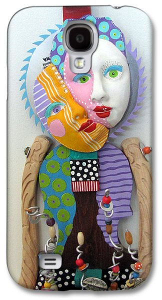 Father Sculptures Galaxy S4 Cases - Flowers And Good Things Galaxy S4 Case by Keri Joy Colestock