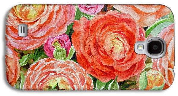 Flowers Flowers Flowers Galaxy S4 Case by Irina Sztukowski