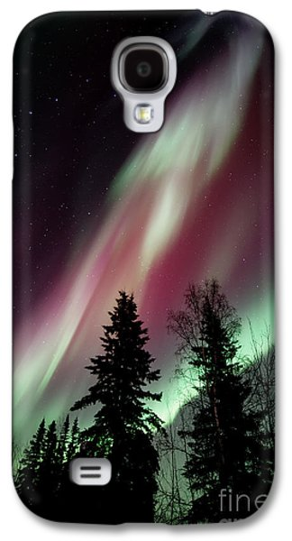 Beautiful Photographs Galaxy S4 Cases - Flowing Colours Galaxy S4 Case by Priska Wettstein