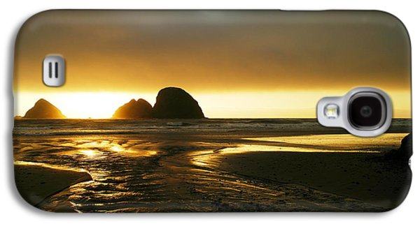Dream Scape Galaxy S4 Cases - Flowing Into The Ocean Galaxy S4 Case by Jeff  Swan