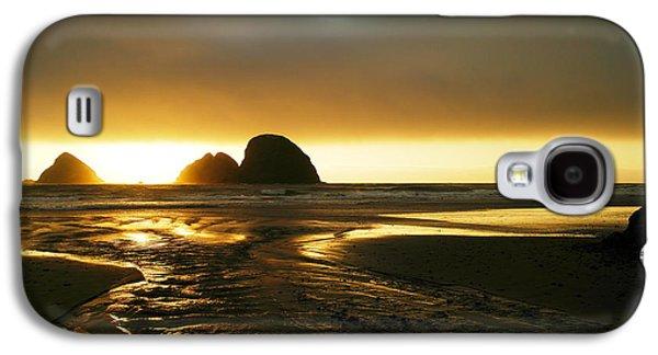 My Ocean Galaxy S4 Cases - Flowing Into The Ocean Galaxy S4 Case by Jeff  Swan