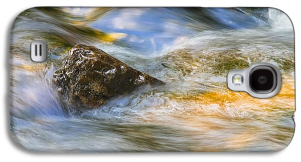 Landscapes Photographs Galaxy S4 Cases - Flowing Water Galaxy S4 Case by Adam Romanowicz