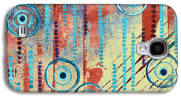 Abstract Movement Mixed Media Galaxy S4 Cases - Fluent Galaxy S4 Case by Moon Stumpp