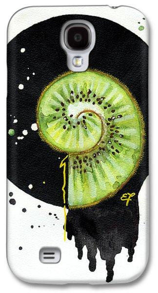 Interior Still Life Drawings Galaxy S4 Cases - Fluidity 12 - Elena Yakubovich Galaxy S4 Case by Elena Yakubovich
