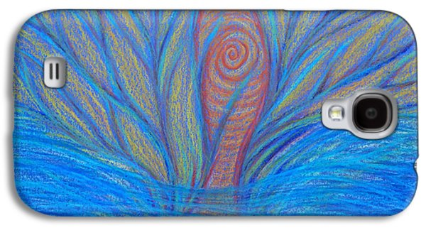 Spiritual Pastels Galaxy S4 Cases - Fluidity Galaxy S4 Case by Jamie Rogers