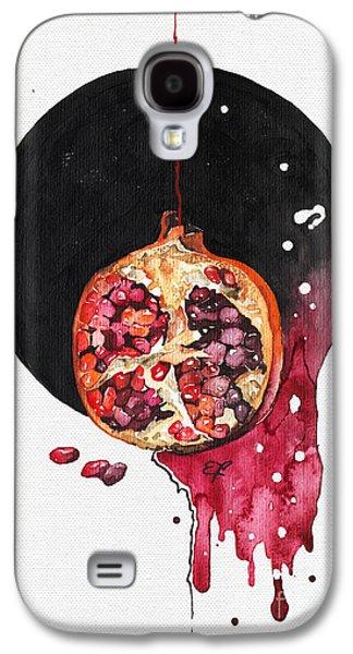 Interior Still Life Paintings Galaxy S4 Cases - Fluidity VII - Elena Yakubovich Galaxy S4 Case by Elena Yakubovich