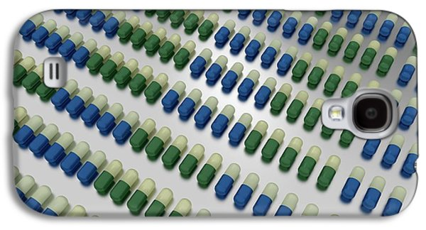 Fluoxetine Capsules Galaxy S4 Case by Robert Brook