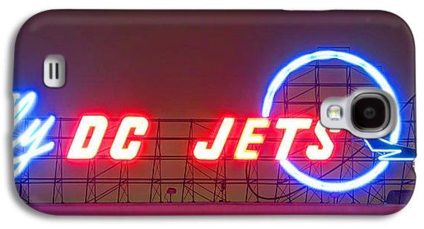 Fly Dc Jets Galaxy S4 Case by Heidi Smith