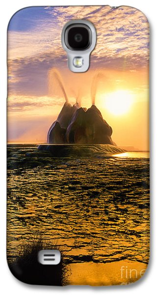 Fly Geyser Sunrise Galaxy S4 Case by Inge Johnsson