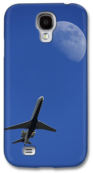 Fly Me To The Moon Galaxy S4 Case by Mike McGlothlen