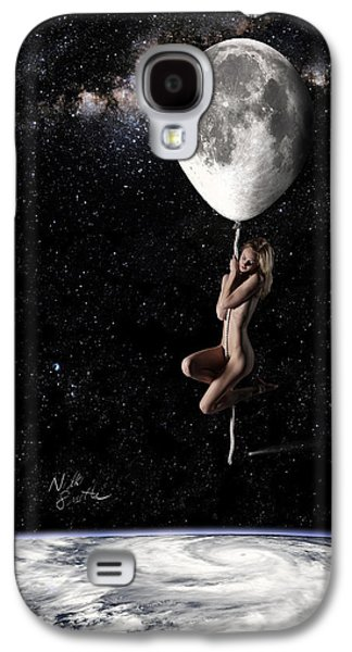 Fly Me To The Moon - Narrow Galaxy S4 Case by Nikki Marie Smith