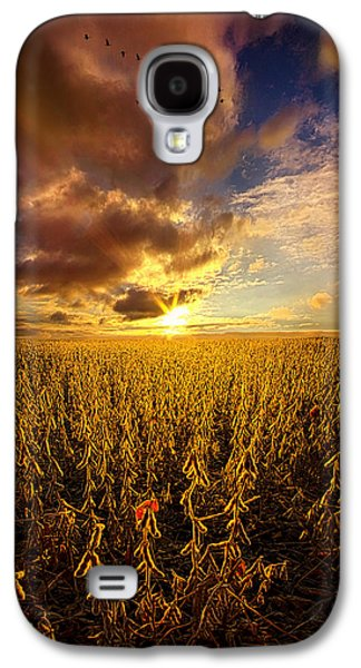 Vertical Flight Galaxy S4 Cases - Fly Over Country Galaxy S4 Case by Phil Koch