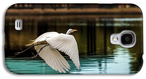 Flying Egret Galaxy S4 Case by Robert Bales
