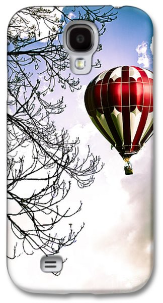 Vertical Flight Galaxy S4 Cases - Flying High Galaxy S4 Case by Jan Bickerton