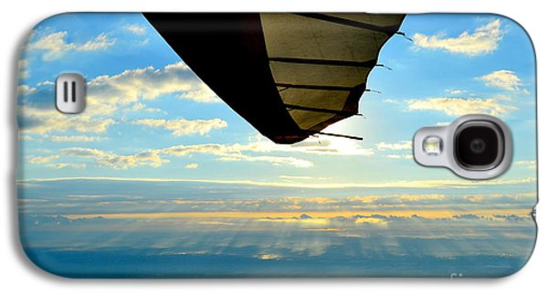 Coasting Galaxy S4 Cases - Flying High Galaxy S4 Case by Jeffery Fannin