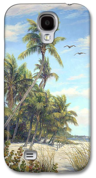 Beach Landscape Galaxy S4 Cases - Flying High Galaxy S4 Case by Laurie Hein