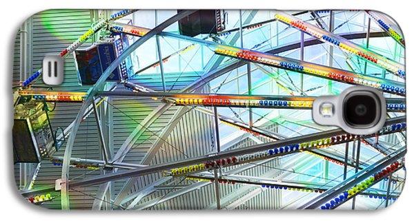 Enterprise Galaxy S4 Cases - Flying Inside Ferris Wheel Galaxy S4 Case by Luther   Fine Art