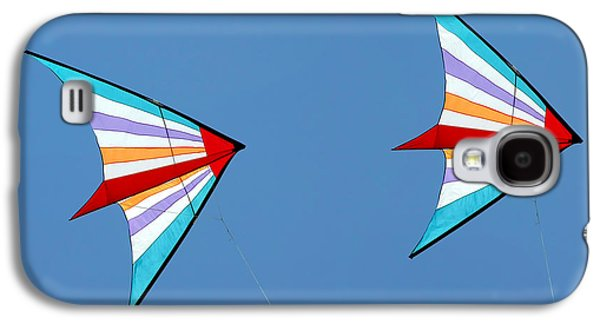 Liberty Galaxy S4 Cases - Flying kites into the wind Galaxy S4 Case by Christine Till