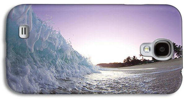 Ocean Galaxy S4 Cases - Foam Wall Galaxy S4 Case by Sean Davey